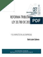 Reforma Tributaria en Chile 2015