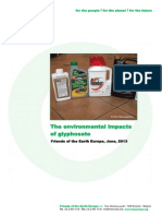 Environmental Impacts Glyphosate