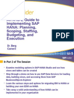 HANA2014 a to Z Guide Part 2