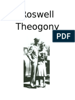 Roswell Theogony, Title Page