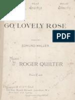 Quilter - Go Lovely Rose