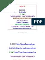 Sesión 13 OSCE, SEACE, RNP, plan anual, area usuaria, CE, VR, PS.pdf