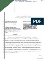 Caterpillar Financial Services Corporation v. Charter Connection Corporation et al - Document No. 10