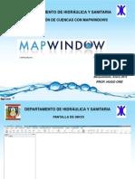 Delimitación de Cuencas MapWindows