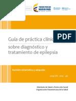 GPC Diagnostico Tratamiento Epilepsia