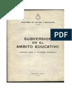 Subversion_ambito_educativo Foto de Los Gráficos