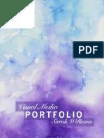 Visual Media Portfolio- Sarah Williams