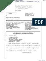 Michigan Paralyzed Veterans of America v. University of Michigan - Document No. 5
