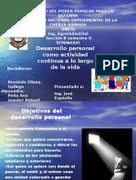 Esp. Desarrollo Personal
