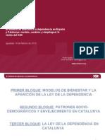 Despliege de la Ley de la Dependencia en Catalunya y España (OSDE)
