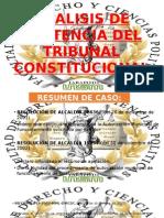 Analisis de Sentencia Del Tribunal Constitucional