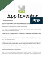 Introducción a Google AppInventor (Capítulo 1 Interfaz Web)