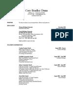 resume doc - google docs
