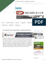L CONCRETO EN CLIMAS FRÍOS _ CONSIDERACIONES