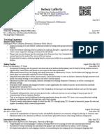 lafferty kelsey resume