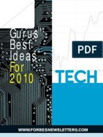 Forbes Gurus Best Tech Stocks 2010