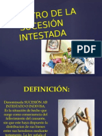 Registro de La Sucesión Intestada