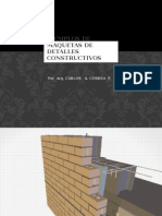 Ejemplos de Maquetas de Detalles Constructivos