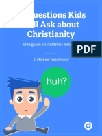 Questions Kids Will Ask About Christianity