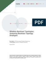 Ceragon Wireless Backhaul Topologies Tree vs Ring White Paper