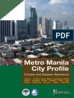 Metro Manila City Profile