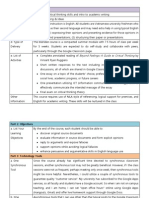 Blended learning course sample