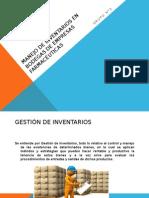 Manejo de Inventarios en Bodegas de Empresas Farmacéuticas