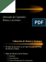 Mercado de Capitales - Bonos y Acciones