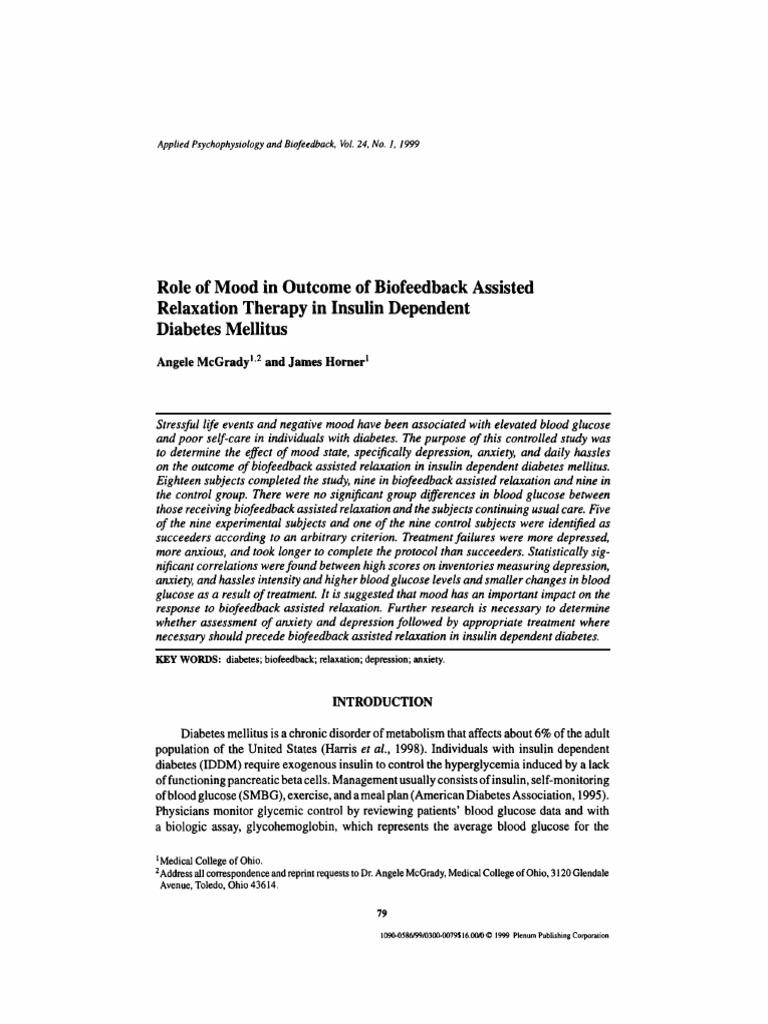Depresión,anisedad.pdf | Glycated Hemoglobin | Major Depressive ...