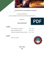 coquificacion - siderurgia