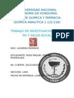 Ph y Salud Bucal