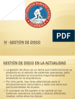 Gestion de disco hd