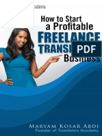 How to Start a Profitable Freelance Translation Business