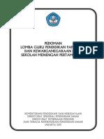 Pedoman Lomba Guru Ppkn Tk Nasional