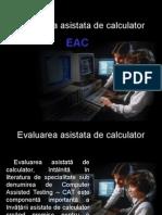 Evaluarea Asistata de Calculator