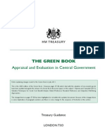 UK. Appraisal and Evaluation in Central Government Green_book_complete