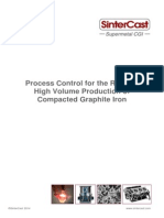 SinterCast Process Control for the Reliable High Volume Production of Compacted Graphite Iron