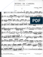 Sax-Concertino Di J.ibert