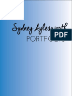 Sydney Aylesworth Portfolio