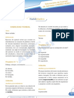 Razonamiento Verbal - Preguntas Del Examen UNMSM 2010-1A