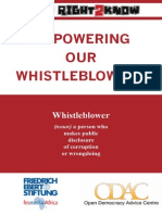 Empowering our Whistleblowers