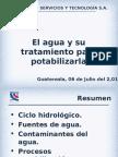 Presentación Tratamientos Potabilización Agua