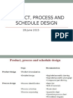 Product,Process and Schedule Design