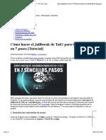 Cómo Hacer El Jailbreak de TaiG Para IOS 8.1.1