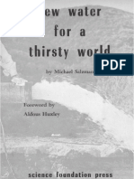 New Water for a Thirsty World by Michael H Salzman