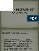 Laws in Recruitment and Hiring