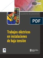 Prevencion Riesgos Electricos en BT