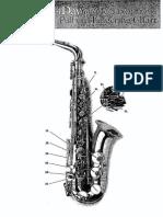 Alto Sax Fingering Chart