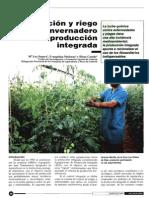 Fertilizacion y Riego Bajo Invernaderos