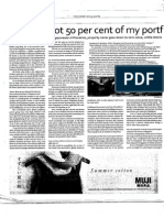 'I Would Allot 50 Percent of My Portfolio to Property'